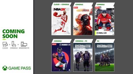 Neu im Xbox Game Pass: Madden NFL 21, Football Manager 2021 und mehr! HERO