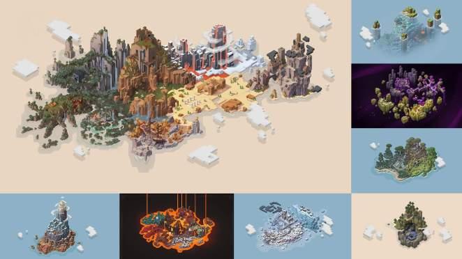 Minecraft Dungeons ist ab sofort via Steam erhältlich!