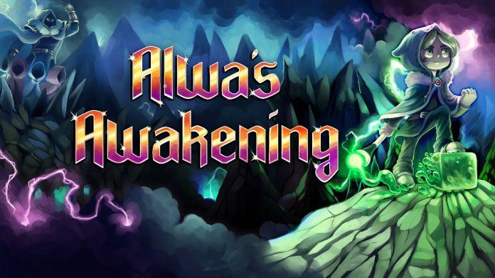 Alwa's Awakening Key Art