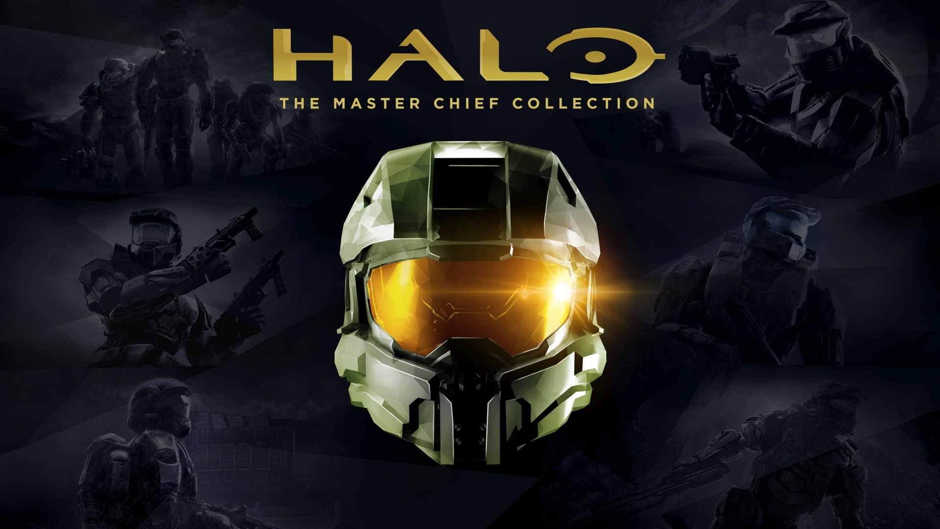 Halo Master Chief Collection Key Art