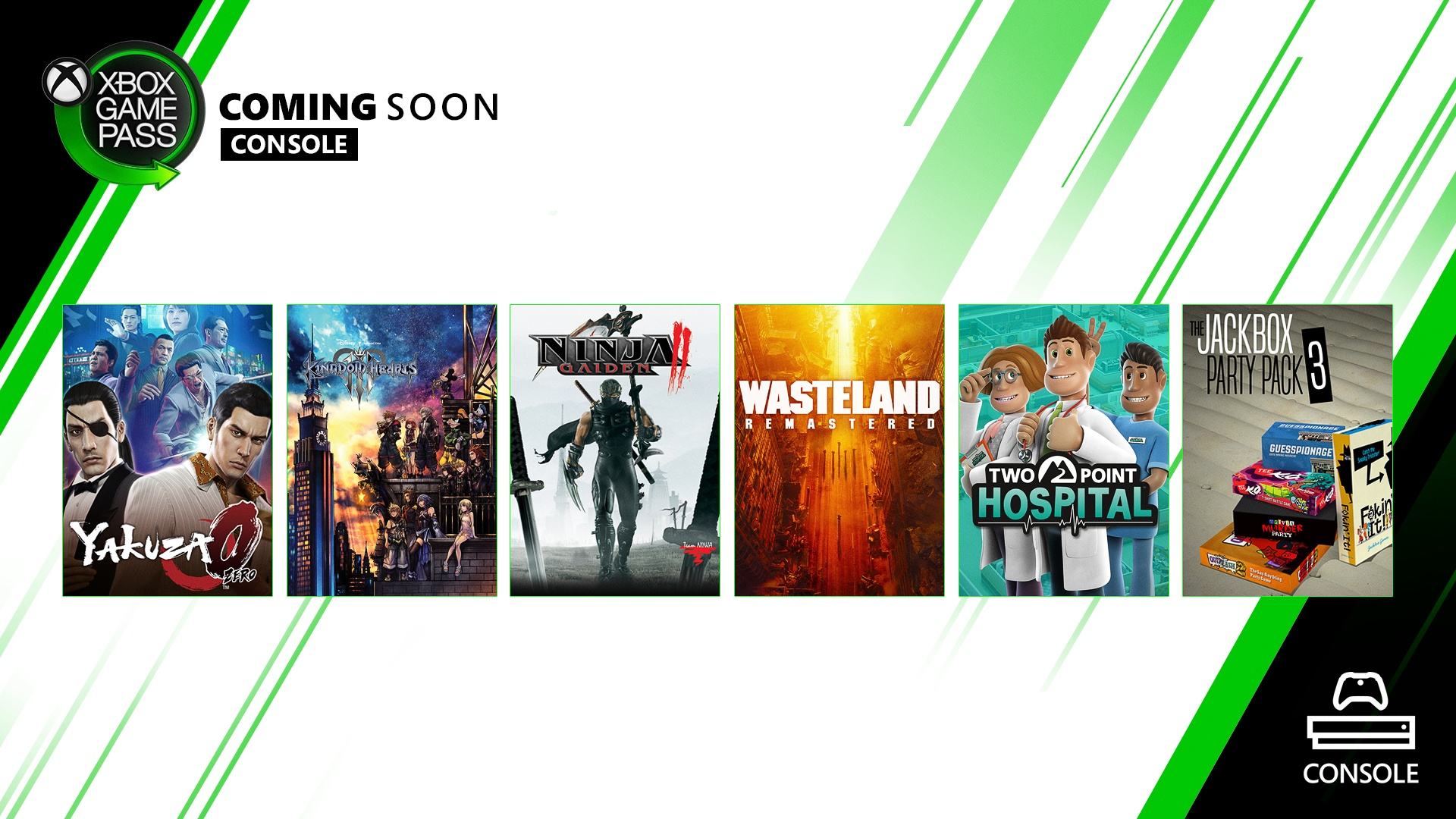 Xbox Game Pass for Console - February Wave 2 Update