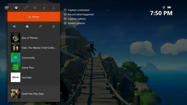 Xbox Insider - New Tab Order