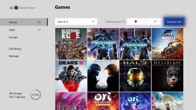 Xbox Insider - Surprise Me