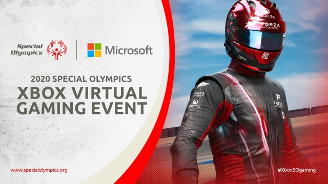 Special Olympics Xbox Virtual Game Event
