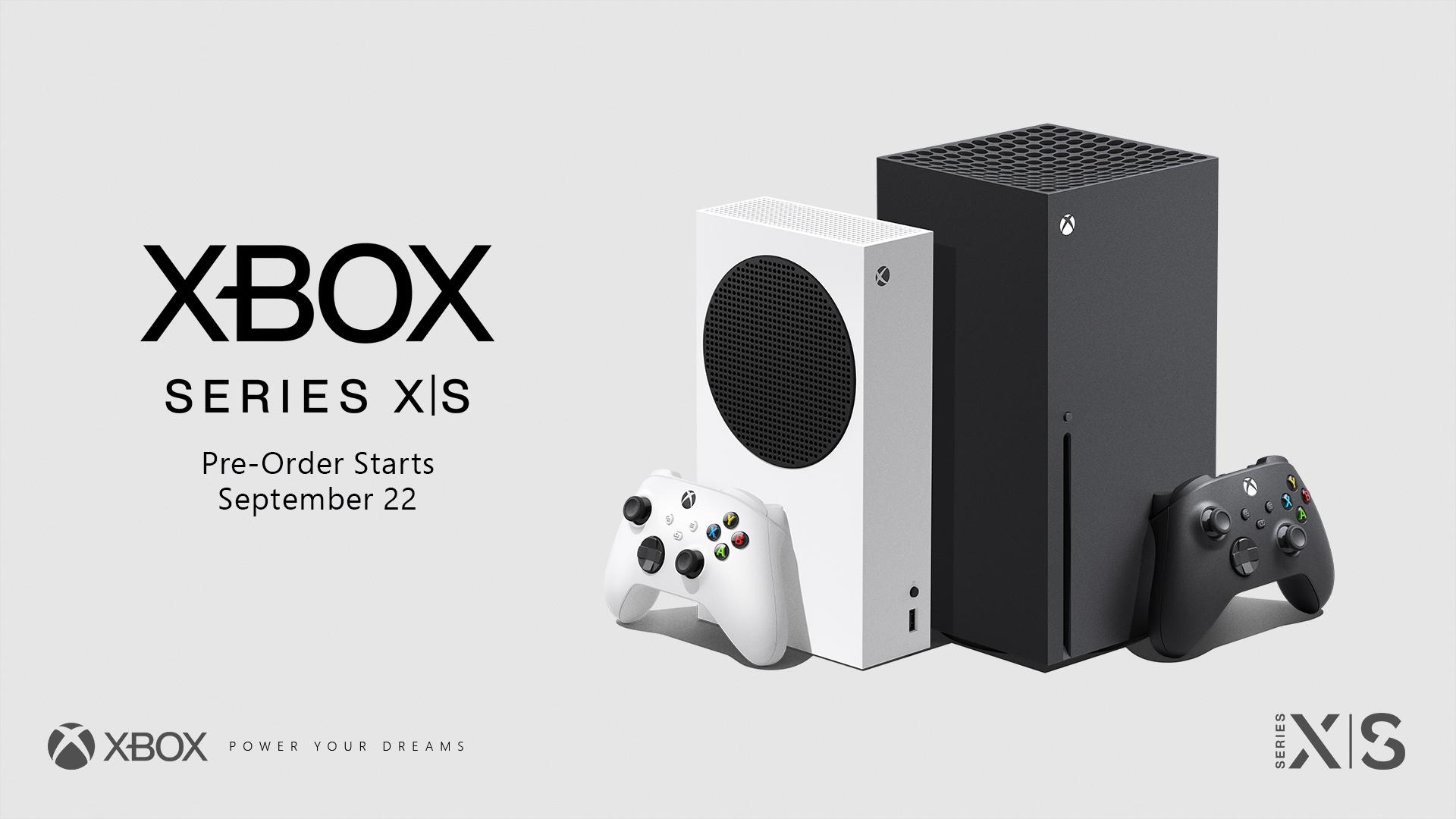 Xbox Series X S Preorder image