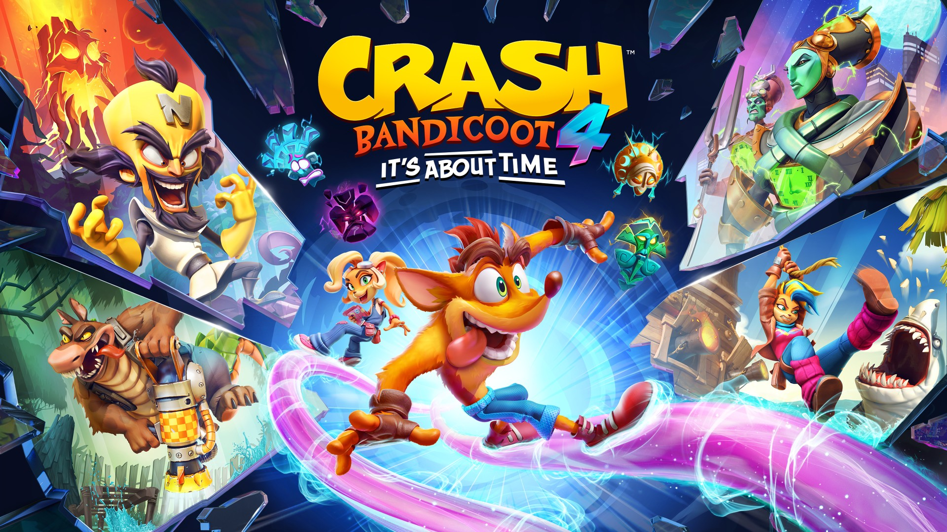 Crash Bandicoot 4: It's Now Available Now on Xbox One