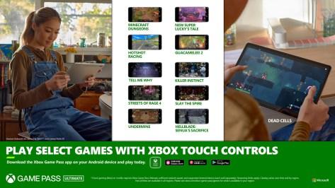 XBOX GAME PASS:10 TITULOS NUEVOS CON CONTROLES TÁCTILES PARA ANDROID