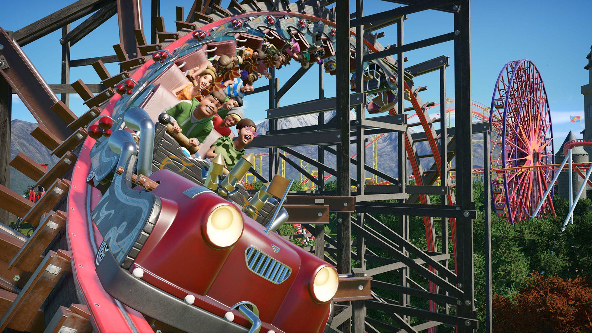 Pre-order Planet Coaster: Console Edition, coming November 10