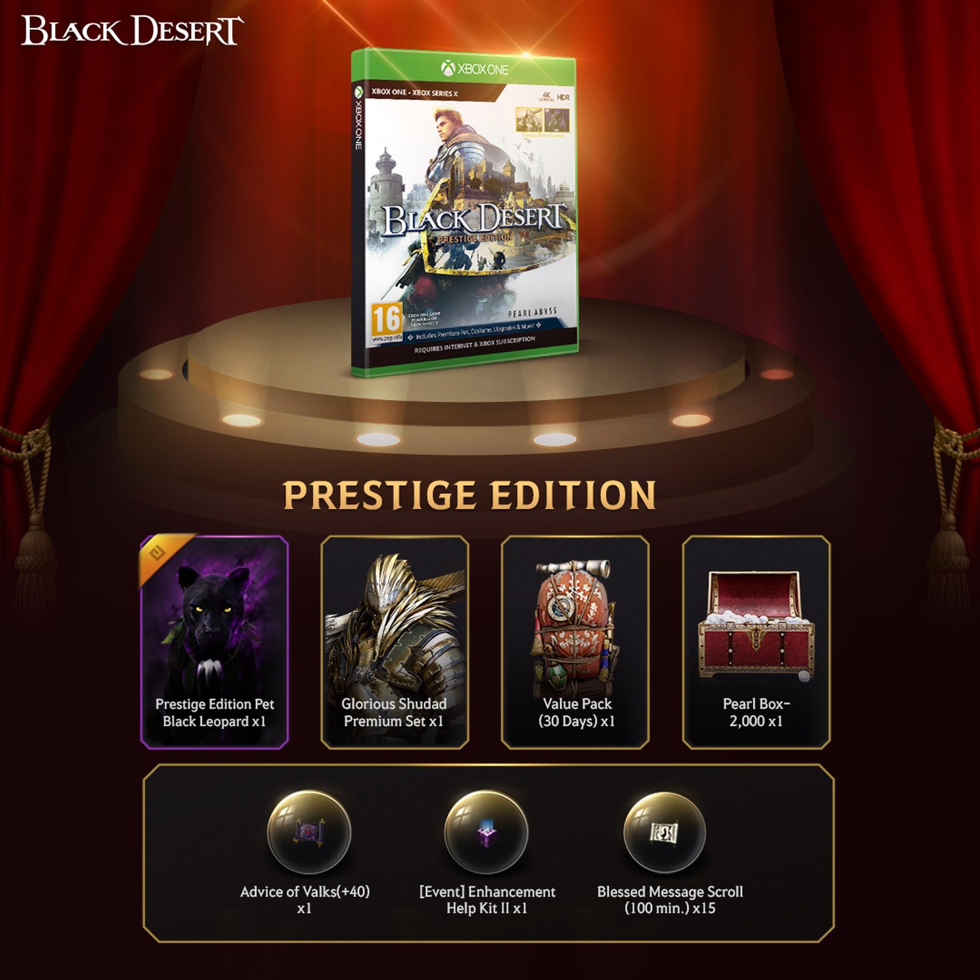 Black Desert: престижное издание