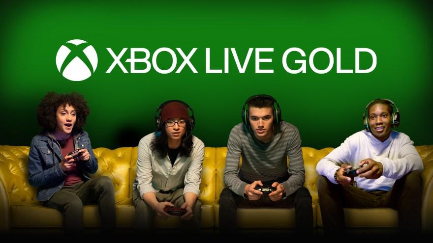 Xbox Live Gold Hero Image
