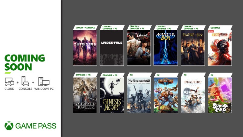 Xbox Game Pass Update - March 2021 - Wave 2