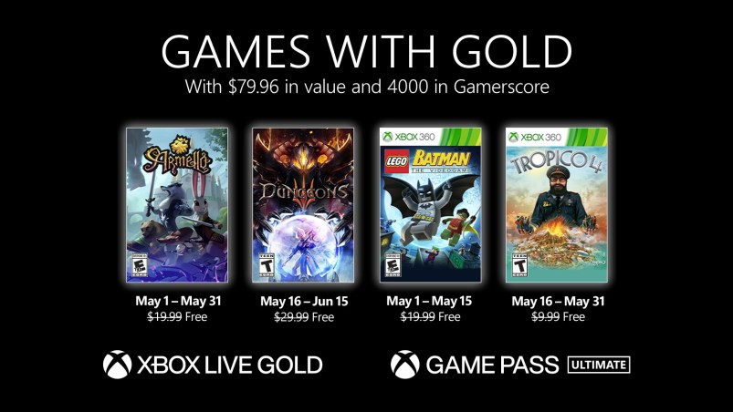 Games with Gold May 2021