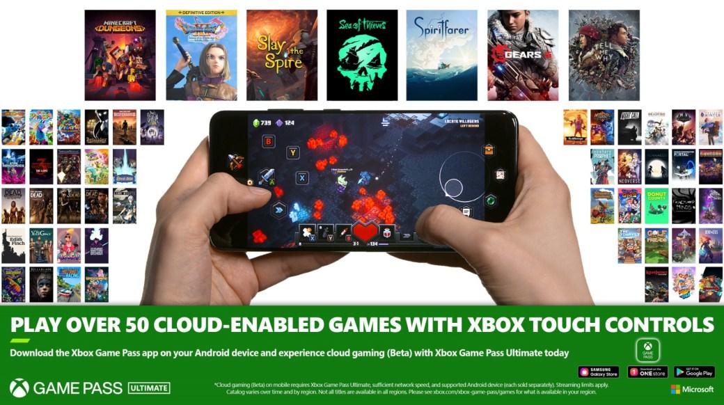 Controlli Xbox Touch