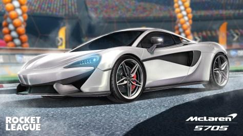 Rocket League McLaren