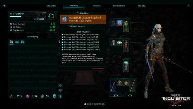 Warhammer 40,000: Inquisitor - Skulls In-game Event