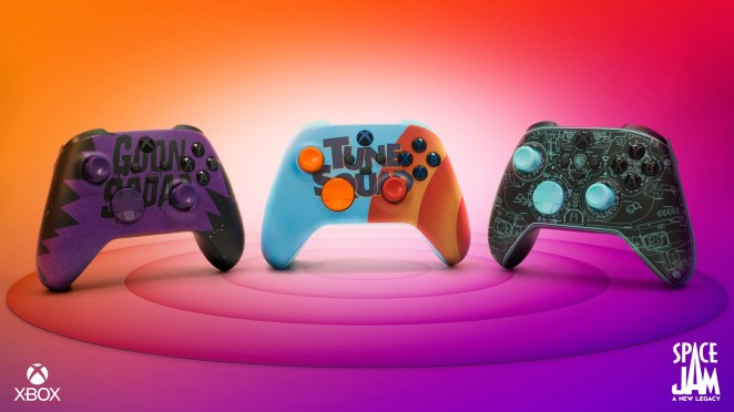 """Game On! Xbox Wireless Controllers Inspired by """"Space Jam: A New Legacy"""""""