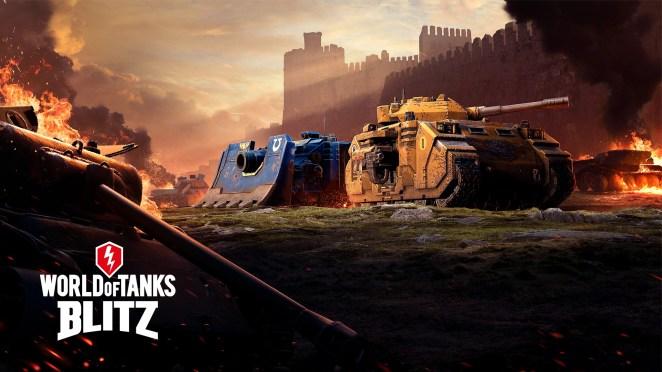 World of Tanks: Blitz - Space Marine Tanks