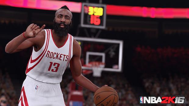 NBA 2K16 Harden Screenshot