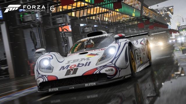 1998 Porsche #26 Porsche AG 911 GT1 98