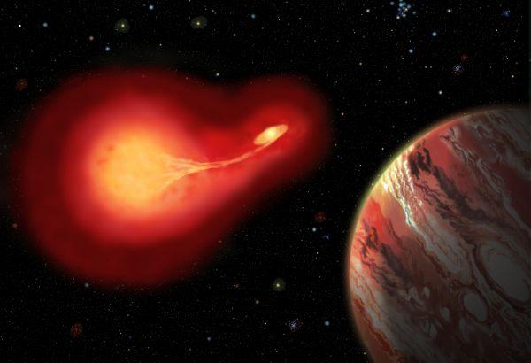 Resultado de imagen de Se han detectado planetas que orbitan alrededor de una estrella magnética