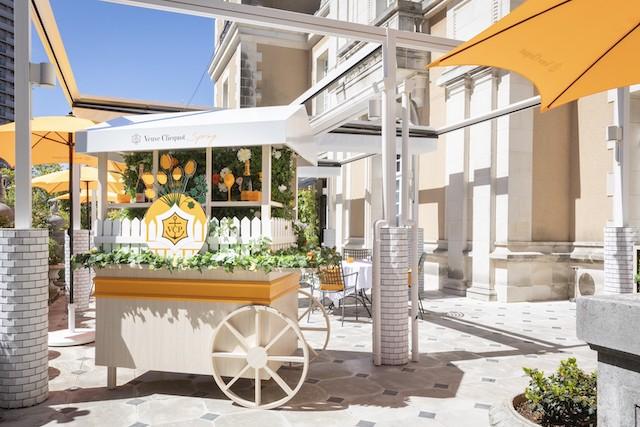 """ヴーヴ・クリコが贈る、ツイスト溢れるSpring Garden Veuve Clicquot """"Spring"""""""