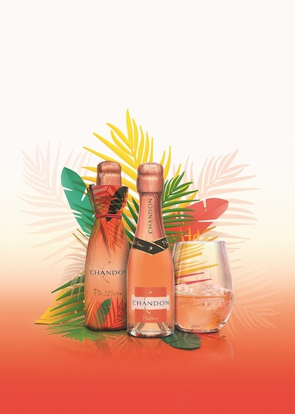 氷を入れて楽しむ新感覚スパークリングワイン!「CHANDON PASSION」から初めてのミニボトルが誕生!