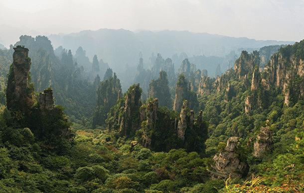 Национален парк Zhangjiajie в Китай