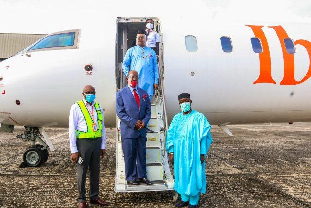 Akwa Ibom Airport MRO, New Terminal Building Progresses As Ibom Air Jets To Enugu Airport.