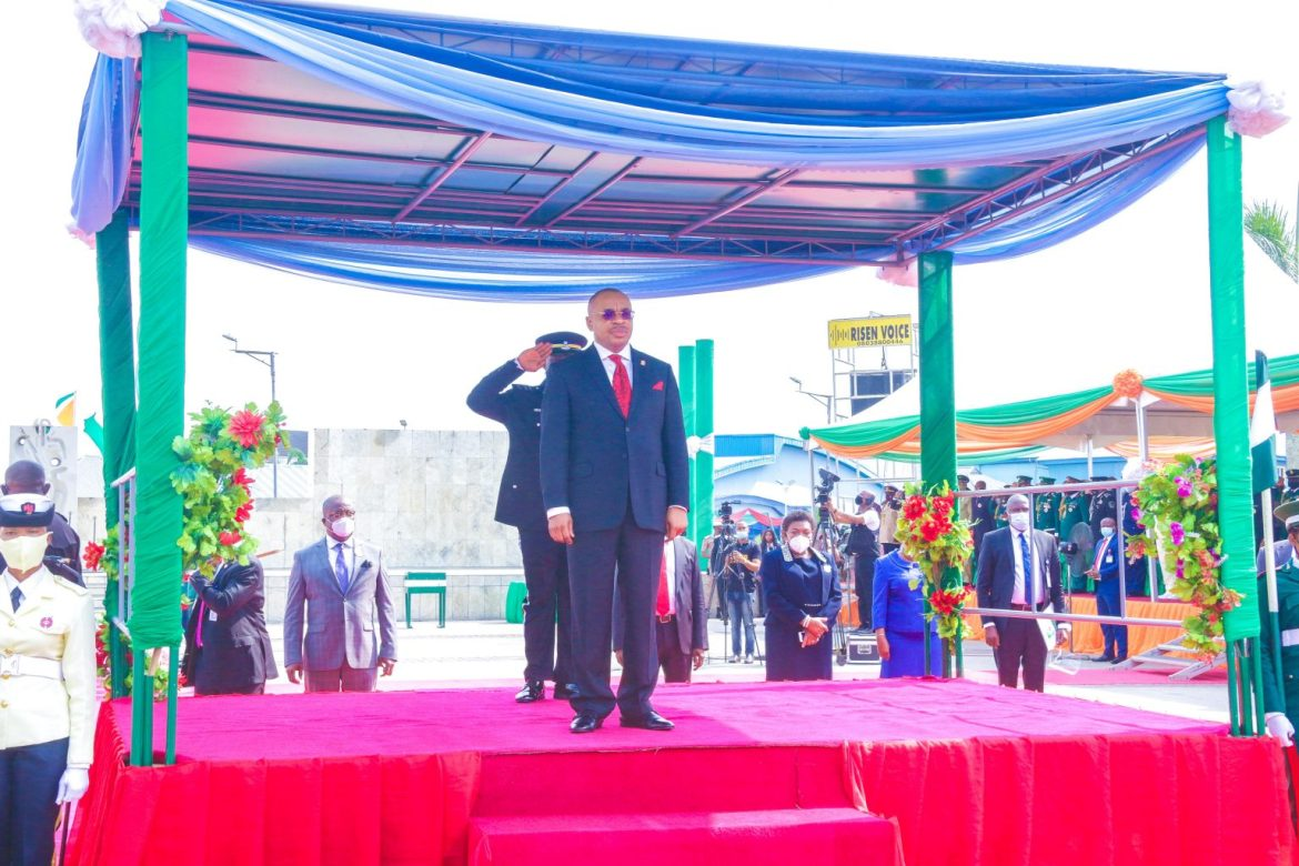 2021 Armed Forces Remembrance Day Speech By Governor Udom Emmanuel