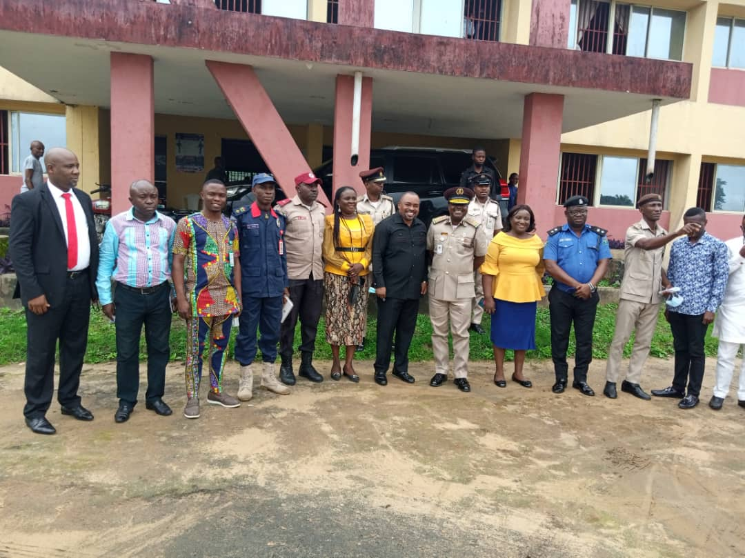 A'Ibom Immigration Comptroller visits Nsit Ibom Council….appeals for land to build immigration office-Emaido Affia