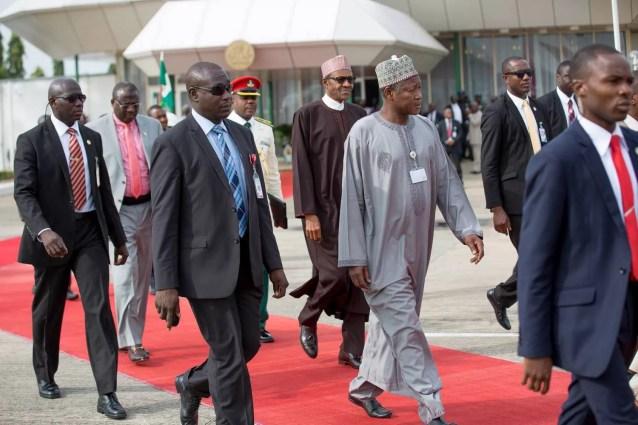 President-Muhammadu-Buhari-Departs-To-India 2