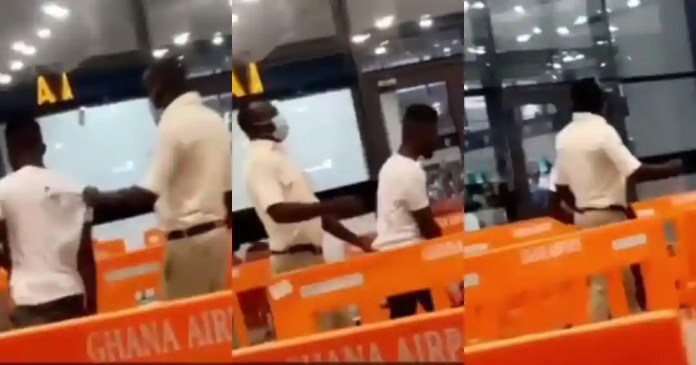 Ghanaian caught at airport trying to leave the country without a passport
