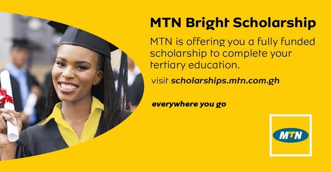 MTN BRIGHT SCHOLARSHIPS FOR UNDERGRADUATES || GHANA scholarship 2020
