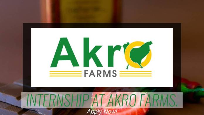 Check This : Internship Opportunity at Akro Farms
