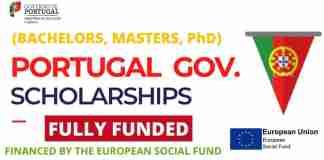 Scholarships in Portugal