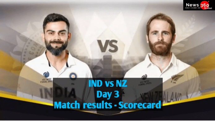 Ind vs NZ WTC Final Day 3 Match Results, Scorecards, who will be the first Test champion