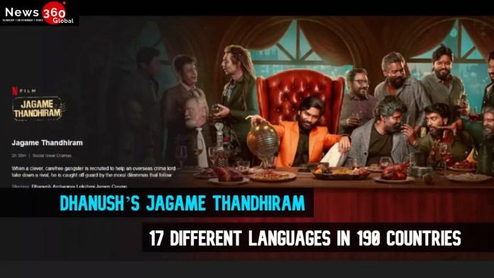 Jagame Thandhiram in Telugu, Malayalam, Tamil, Kannada, Hindi and English Watch Online