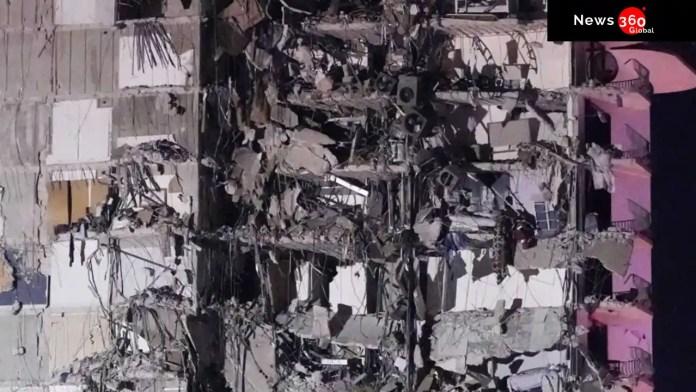 Miami building collapse.