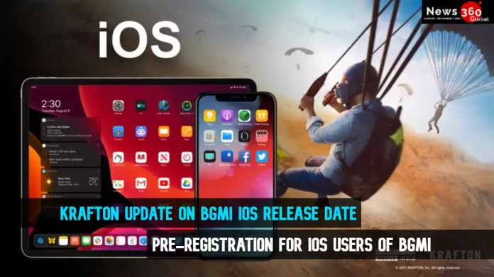 Krafton Update on BGMI IOS Release Date Latest, Pre-Registration for IOS Users of BGMI
