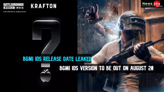 BGMI IOS Release Date Leaked - BGMI iOS to be out on August 20