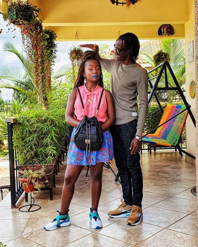 Anne Kansiime and partner