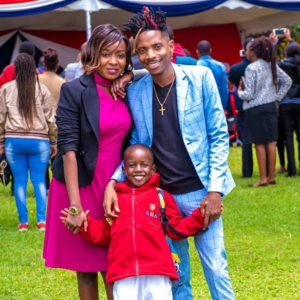 Jacque Maribe and Eric Omonde