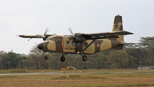 Kenya Air Force aircraft