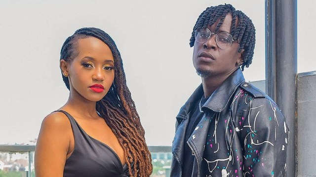 Willy Paul and Miss P