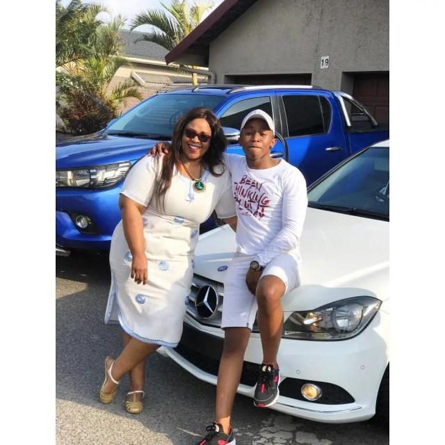 Junior De Rocka and Mom