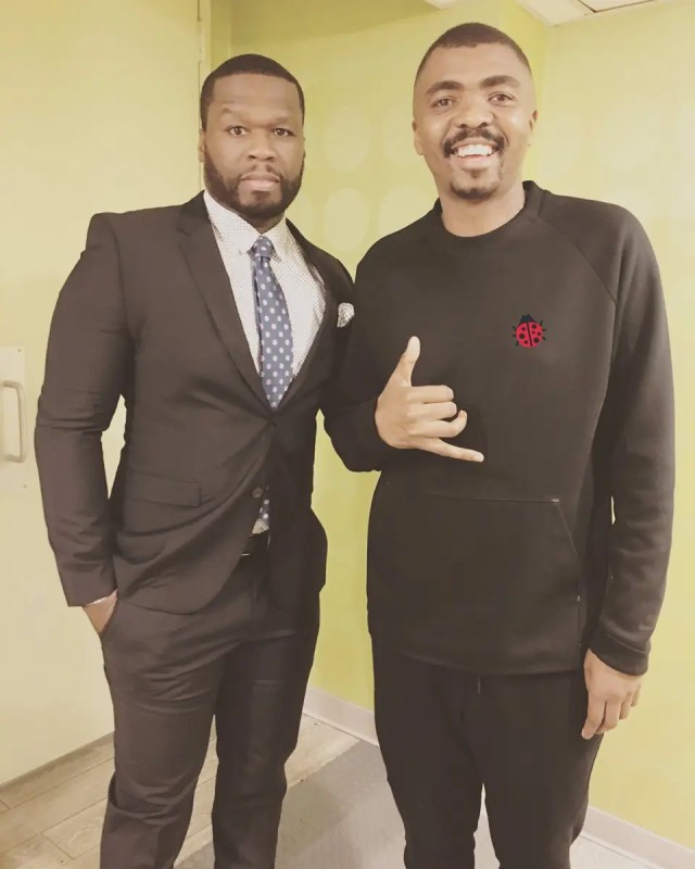 Loyiso Gola and 50 Cent