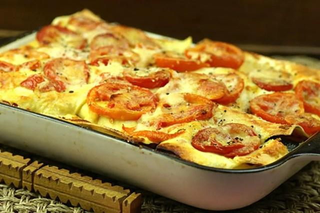Mediterranean-Mozzarella-Lasagne