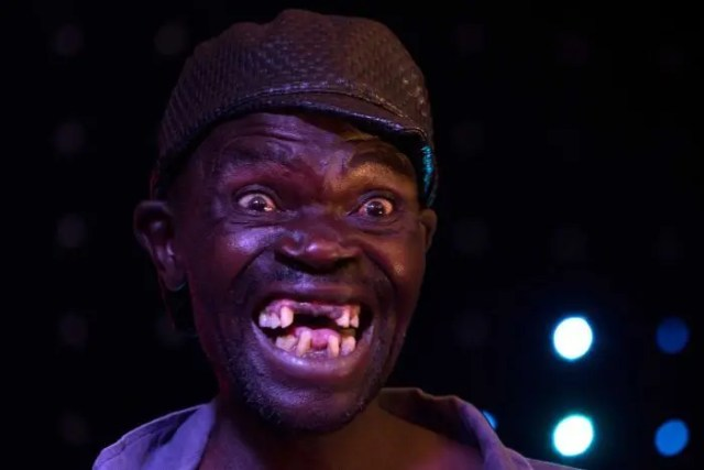 Mison Sere the outgoing Mr Ugly Zimambwe