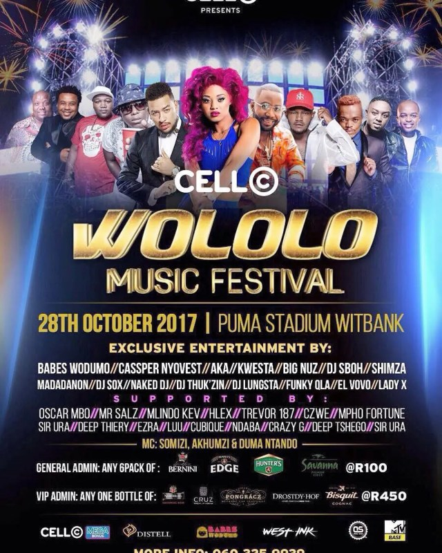 Cell C Wololo Music Festival