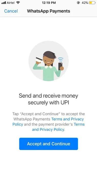 WhatsApp Digital Payments